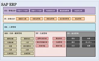 SAP ERPのモジュール